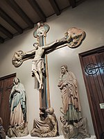 Crucifix from Basilika Wechselburg - casting in Pushkin museum 01 by shakko.jpg