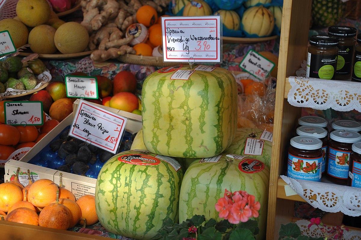 Cube Watermelons for Sale in Munich, Germany Market.jpg