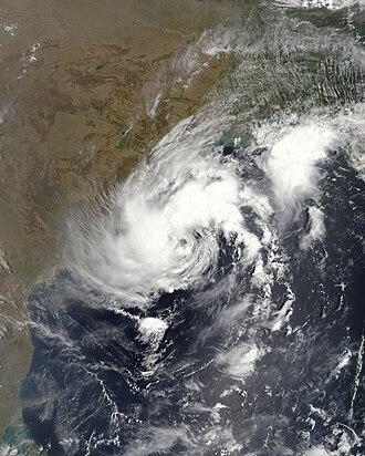 2009 North Indian Ocean cyclone season - Image: Cyclonic Storm Bijli 2009 4 16