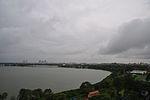 Cyclonic Storm Roanu Affected Overcast Sky - Nalban Waterbody - Kolkata 2016-05-20 3963.JPG