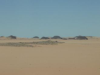 Western Desert (Egypt) - Desert, near Abu Simbel, Egypt