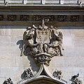 Détail de la façade du beffroi de Saint-Germain-lAuxerrois, Paris 2010.jpg