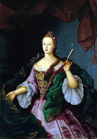 Vieira Lusitano - Image: D. Fancisca Doroteia, séc. XVIII, Palácio Queluz