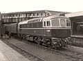D6560 at Hastings Railway Station 1962.jpg