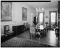 DINING ROOM, LOOKING SOUTH - Westover, State Route 633, Westover, Charles City, VA HABS VA,19-WEST,1-35.tif