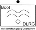 DLRG-Taktisches Zeichen - Boot.png