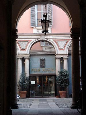 Museo Poldi Pezzoli - Image: DSC02794 Milano Via Manzoni Foto Giovanni Dall'Orto 20 Jan 2007