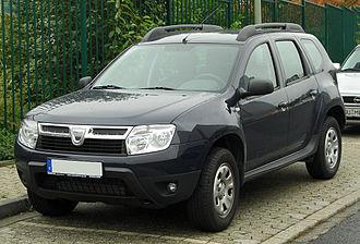 Dacia Duster - Image: Dacia Duster 1.5 d Ci front 20100928
