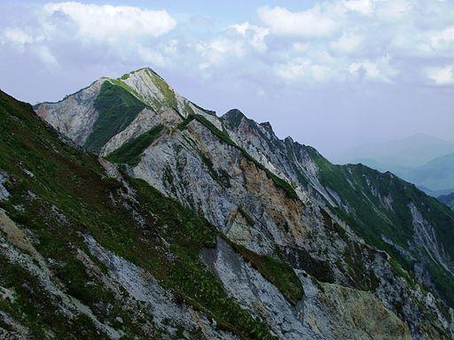 Daisen highest peak