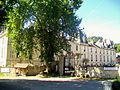 Dampsmesnil (27), hameau d'Aveny, château, façade nord.jpg