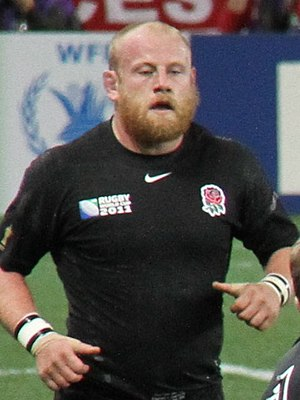Dan Cole (rugby union) - Argentina vs England at 2011 Rugby World Cup