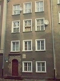 Το κτίσμα στο οποίο γεννήθηκε ο Φαρενάιτ στο Γκντανσκ