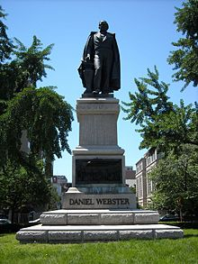 Daniel Webster statue at Scott Circle.JPG