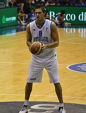 Danilo Gallinari - Gallinari in August 2012 with Italy
