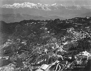 History of Darjeeling - Darjeeling general view. 1912