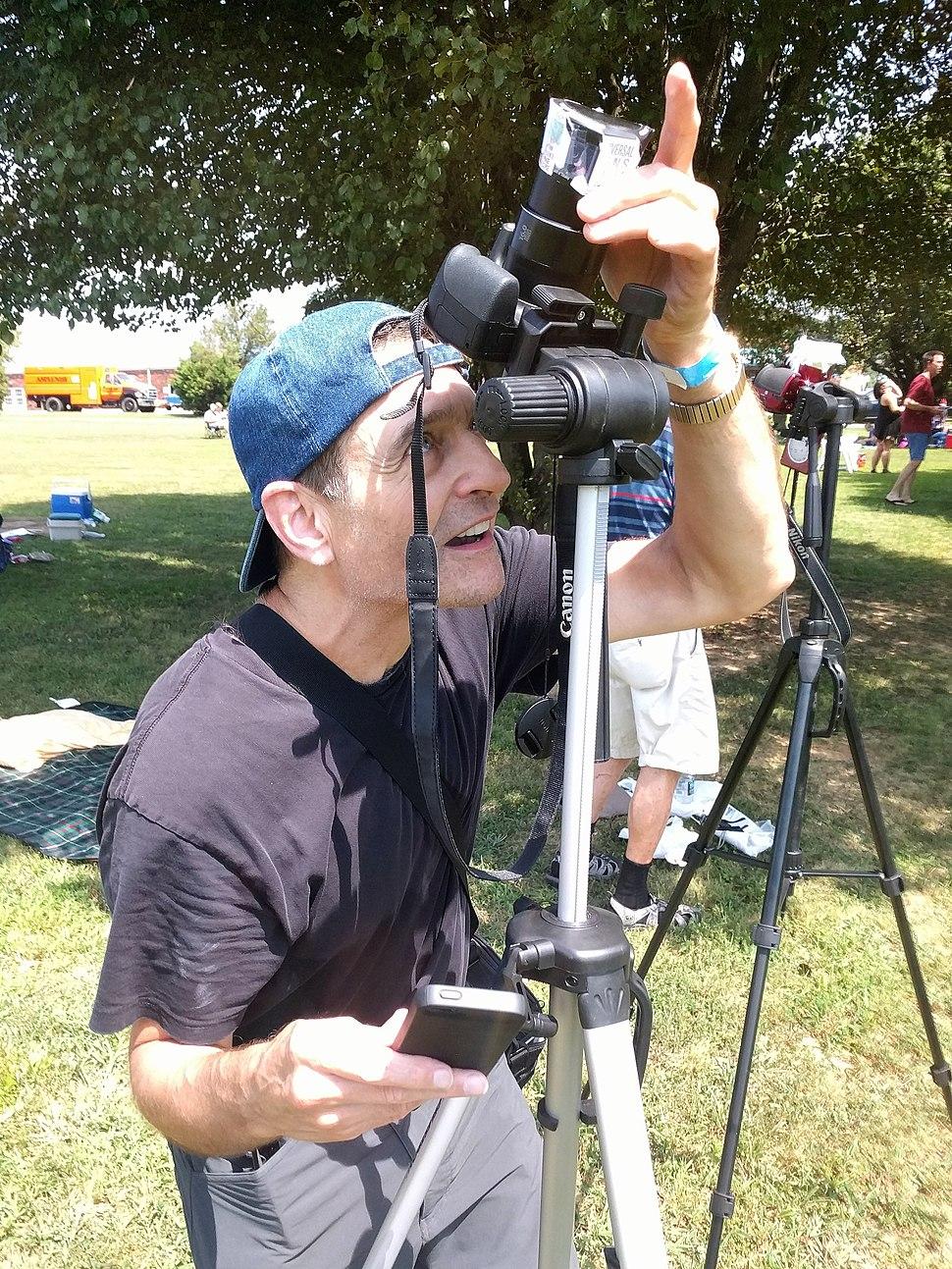 Dave Teich snaps eclipse crescent jeh