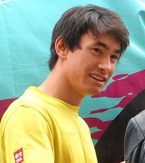 David Lama Austrian rock climber and mountaineer