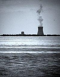 La central nuclear Davis-Besse, inaugurada en los años 70.