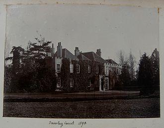Cecil Fane De Salis - Photograph of Dawley Court in 1893.