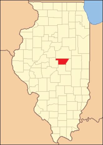 DeWitt County, Illinois - Image: De Witt County Illinois 1841