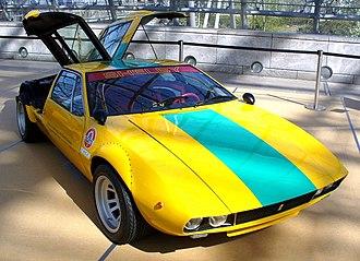 De Tomaso Mangusta - Image: De Tomaso Mangusta Gruppe 4 GT