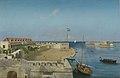 De haveningang van Willemstad met het Gouvernementspaleis Rijksmuseum Amsterdam NG-2013-20.jpg