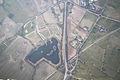 Dearnford Lake (view from Hot air balloon) - Whitchurch, Shropshire - England - 6 April 2013.jpg