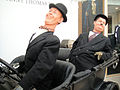 Debbie Reynolds Auction - Stan Laurel and Oliver Hardy signature suits.jpg