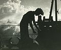 Deck boy at Norwegian merchant ship in convoy to Murmansk autumn 1943.jpg