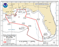 Deepwater Horizon oil spill fishing closure map 2010-06-02.png