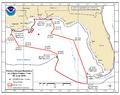 Deepwater Horizon oil spill fishing closure map 2010-06-02.png