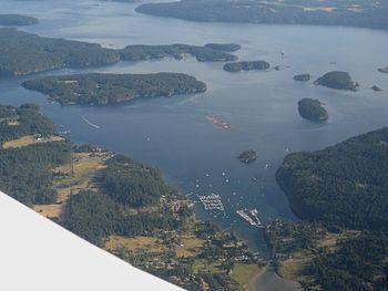Friday Harbor, Orcas Island, Washington