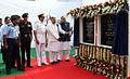Defence Minister Arun Jaitley laying the foundation stone for the Nau Sena Bhawan (3).JPG
