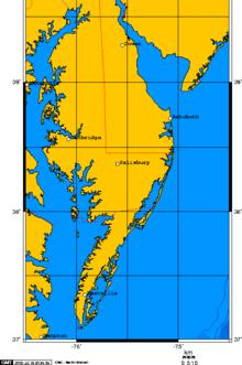 Delmarva Peninsula - Wikipedia on