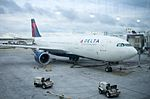 Delta Air Lines A330-200 N860NW At the gate at Detroit Metro International Airport.jpg