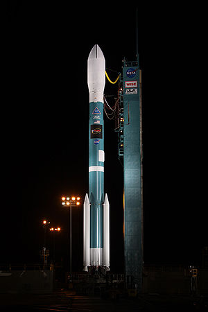 A United Launch Alliance Delta II (Delta 347) ...