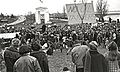 Demonstration against oil tankers on Canadian side of Peace Arch Park, 1970.jpg