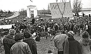 Demonstration (protest) - Demonstration in Canada against oil tankers, 1970