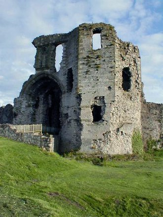 Lordship of Denbigh - Remains of Denbigh Castle, built by the first Lord of Denbigh