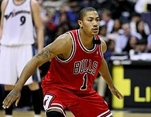 Derrick Rose during his rookie season a5a0acd90