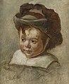 Desboutin M. - Oil on board - Portrait d'enfant au chapeau - 35x29cm.jpg