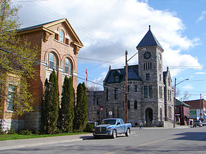 Deseronto - Town Hall and Post Office