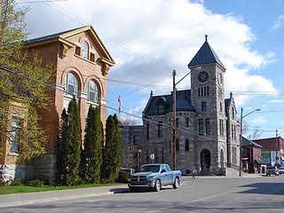 Deseronto Town in Ontario, Canada