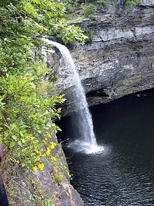Desoto Falls Alabama Wikipedia