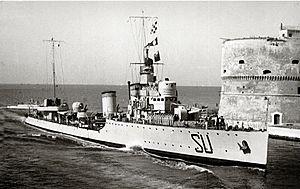 Sauro-class destroyer - Image: Destroyer Nazario Sauro