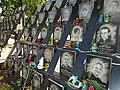 Detail of Street Memorial to 'Heavenly Hundred' Euromaidan Victims - Kiev - Ukraine - 03 (29892810948).jpg