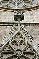 Detail of the facade - Basilica de Santa Maria del Mar - Barcelona 2014.JPG