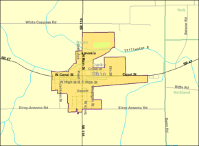 Detailed map of Ansonia, Ohio.png