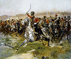 Detaille 4th French hussar at Friedland.jpg
