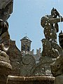 Details of the Fontana del Nettuno on the Piazza Duoma, Trento, Italy.jpg